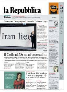 la Repubblica - 1 Maggio 2018
