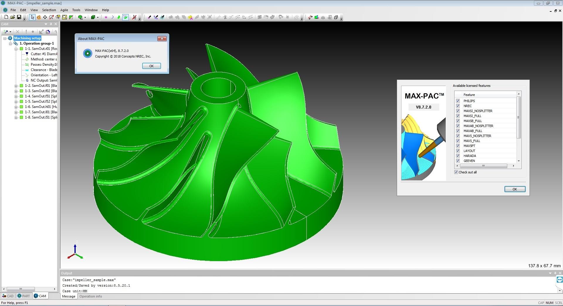 Concepts NREC MAX-PAC 8.7.2.0