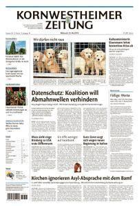 Kornwestheimer Zeitung - 23. Mai 2018