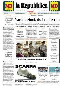 la Repubblica - 4 Aprile 2021