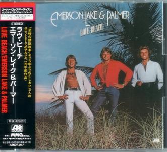 Emerson, Lake & Palmer - Love Beach (1978) {1991, Japan 1st Press}