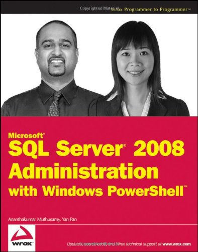 Microsoft SQL Server 2008 Administration with Windows PowerShell (Repost)