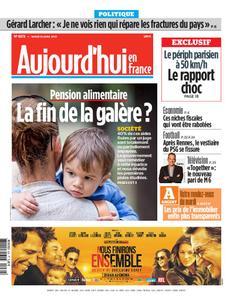 Aujourd'hui en France – 30 avril 2019