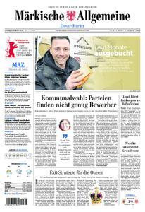 Märkische Allgemeine Dosse Kurier - 04. Februar 2019