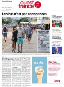 Ouest-France Édition France – 25 juillet 2020