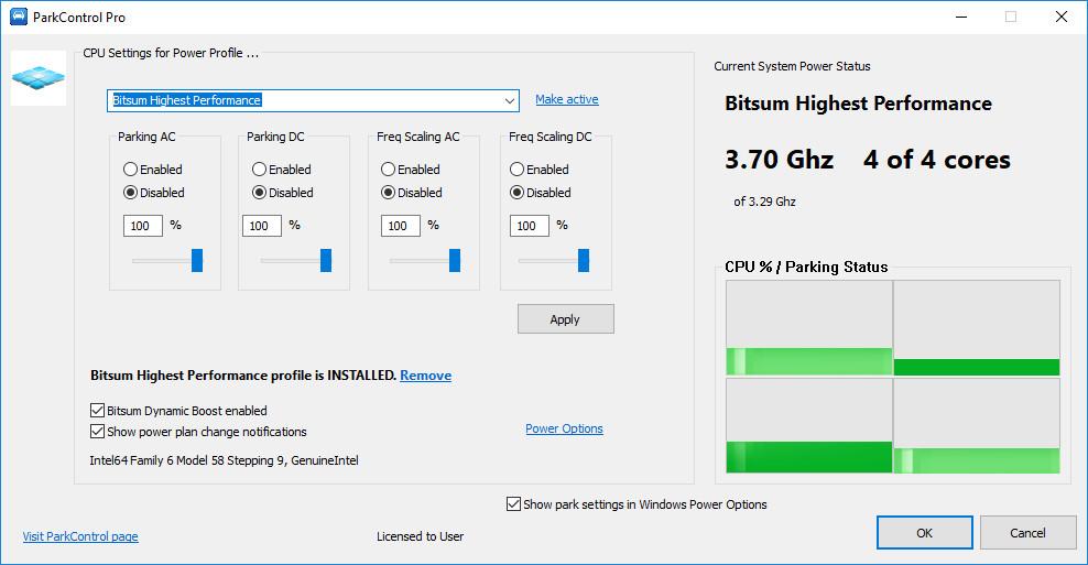 Bitsum ParkControl Pro 1.3.1.4 Multilingual