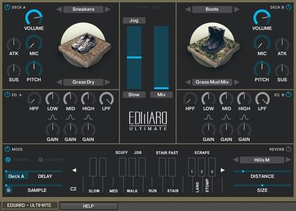 Tovusound Real Outdoor Footsteps - EUS Expansion II KONTAKT