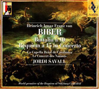 Jordi Savall, Le Concert des Nations, La Capella Reial de Catalunya - Biber: Battalia a 10; Requiem a 15 in Concerto (2002)