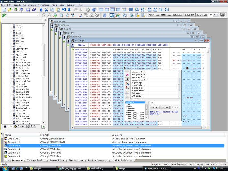 Hexprobe Hex Editor 3.6