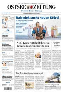 Ostsee Zeitung Wolgast - 18. Oktober 2017