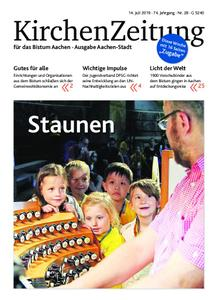 KirchenZeitung für das Bistum Aachen – 14. Juli 2019