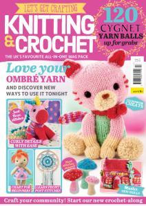 Let's Get Crafting Knitting & Crochet - Issue 117 - December 2019
