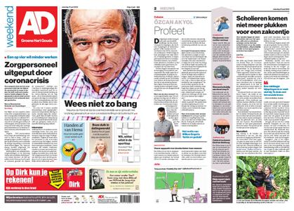 Algemeen Dagblad - Gouda – 27 juni 2020