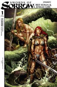 Swords of Sorrow Red Sonja  Jungle Girl 0012015 Digital