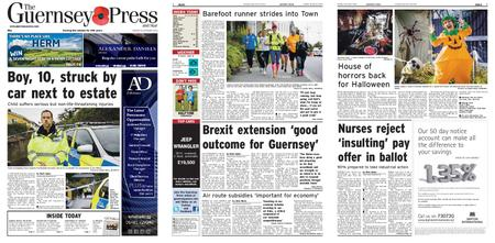 The Guernsey Press – 29 October 2019
