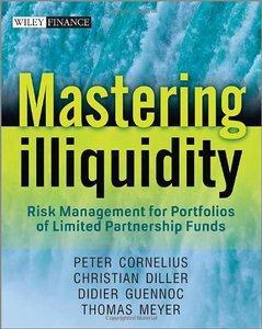 Mastering Illiquidity: Risk management for portfolios of limited partnership fund (repost)