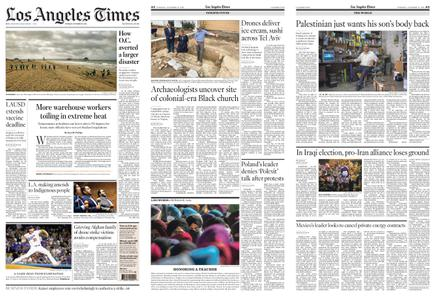 Los Angeles Times – October 12, 2021
