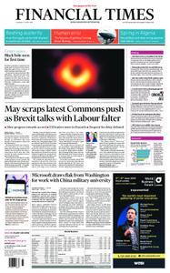 Financial Times UK – April 11, 2019