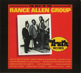 The Rance Allen Group - The Best Of The Rance Allen Group (1988) [Remastered Reissue 2002] Re-Up