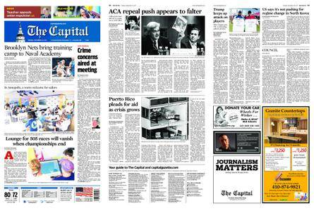 The Capital – September 26, 2017
