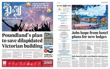 The Press and Journal Moray – December 31, 2019