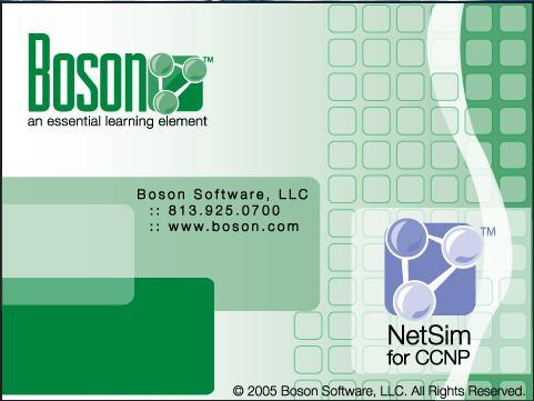 Boson NetSim for CCNP 7.0