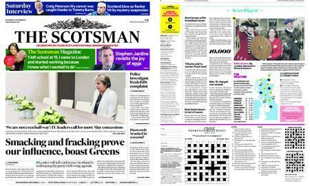 The Scotsman – October 21, 2017