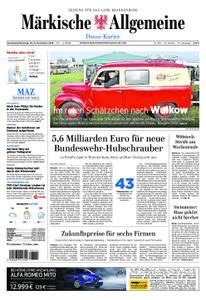 Märkische Allgemeine Dosse Kurier - 10. November 2018
