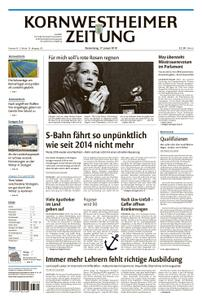 Kornwestheimer Zeitung - 17. Januar 2019