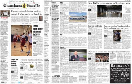 The Texarkana Gazette – January 01, 2020