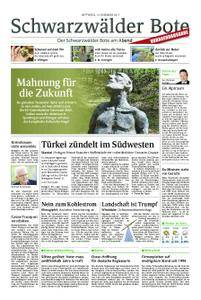 Schwarzwälder Bote Blumberg - 13. Dezember 2017