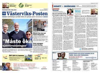 Västerviks-Posten – 07 maj 2018