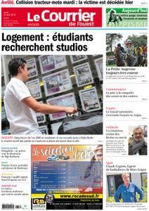 Le Courrier de l'Ouest Angers - 23 août 2018