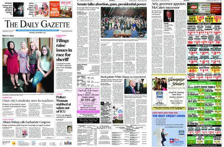 The Daily Gazette – September 05, 2018