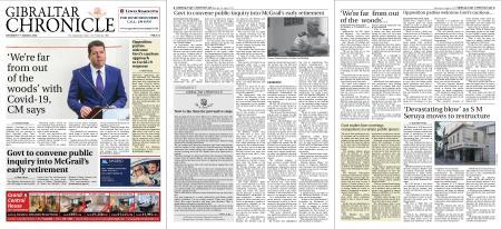 Gibraltar Chronicle – 01 August 2020