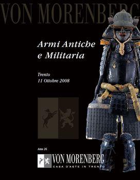 Armi Antiche e Militaria (Von Morenberg №26)
