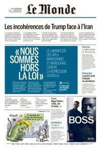 Le Monde du Mardi 24 Septembre 2019