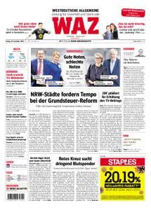 WAZ Westdeutsche Allgemeine Zeitung Oberhausen-Sterkrade - 28. Dezember 2018