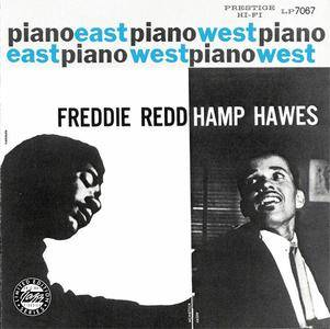 Freddie Redd Trio/Hampton Hawes Quartet - Piano: East/West (1956) {1991 OJC} **[RE-UP]**