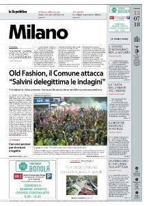 la Repubblica Milano - 15 Luglio 2018