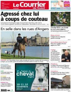 Le Courrier de l'Ouest Angers - 7 Novembre 2017