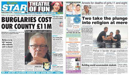 Shropshire Star Shrewsbury Edition – February 12, 2018