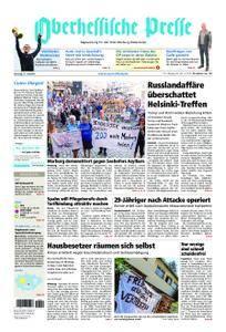Oberhessische Presse Marburg/Ostkreis - 17. Juli 2018