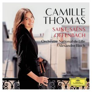 Camille Thomas, Alexandre Bloch, Orchestre National de Lille -  Saint-Saëns & Offenbach (2017)