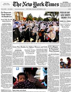 The New York Times - 21 September 2021