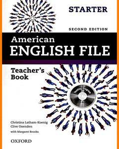 ENGLISH COURSE • American English File • Starter • Second Edition • Teacher's Book (2013)
