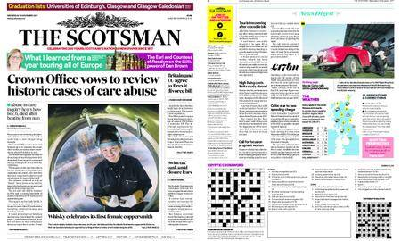 The Scotsman – November 29, 2017