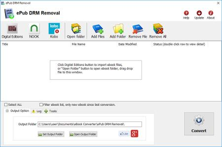 ePub DRM Removal 4.19.1016.391