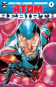 Justice League of America - The Atom - Rebirth 001 2017 2 covers Digital Zone-Empire