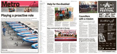 The Star Malaysia - Metro South & East – 26 October 2018